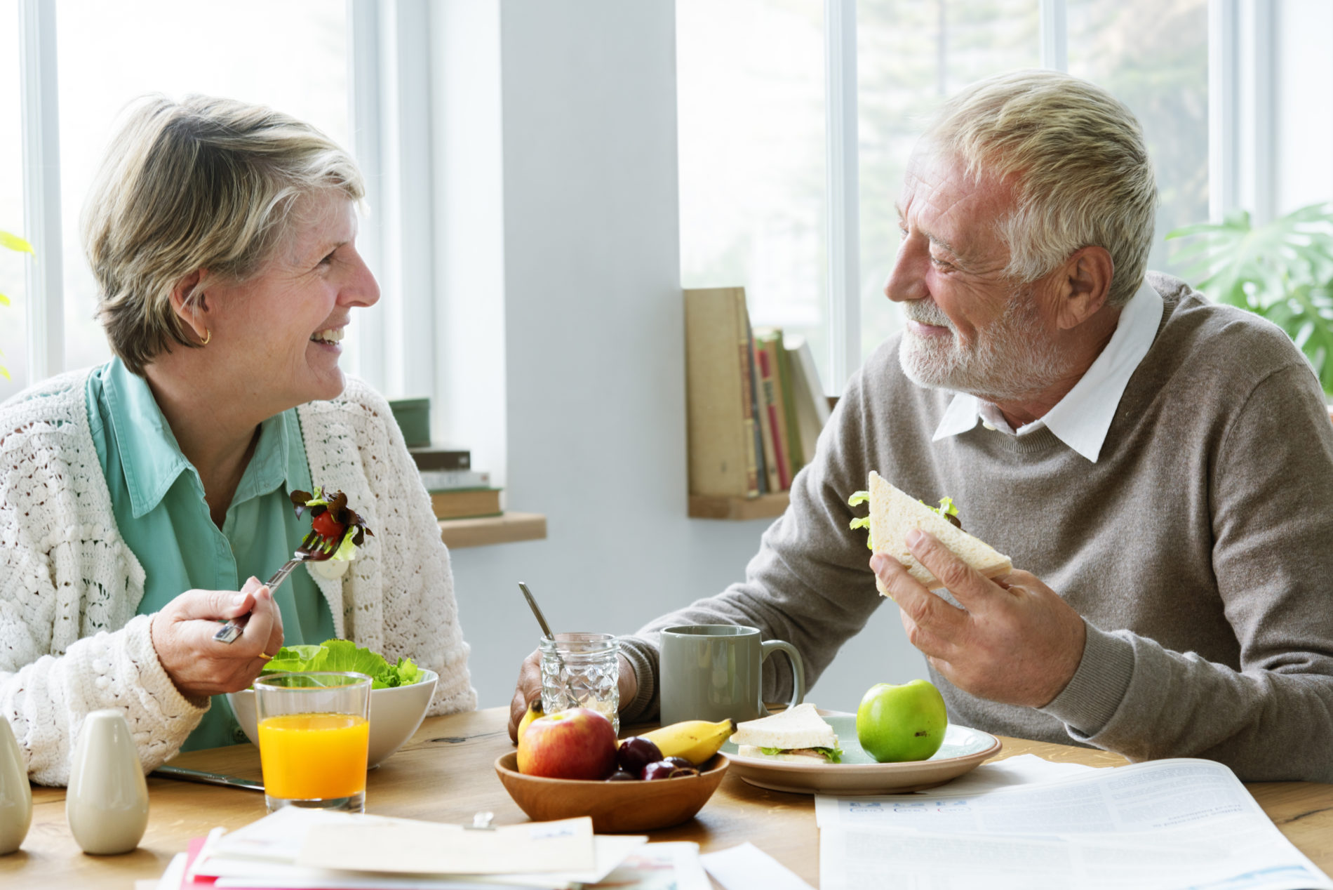 Nutrition with Elderly Residents