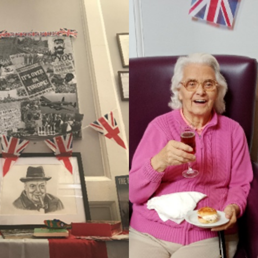 VE Day at Paxton Hall
