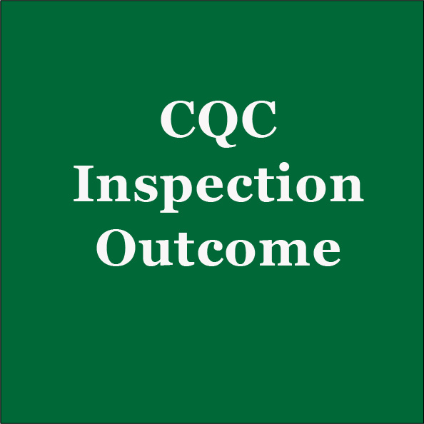 CQC Inspection on Infection Prevention and Control